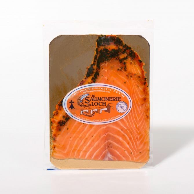 Saumon écosse mariné 2 tranches