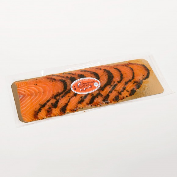 Saumon écosse mariné 8 tranches