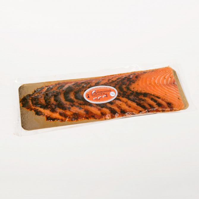 Saumon écosse mariné 12 tranches