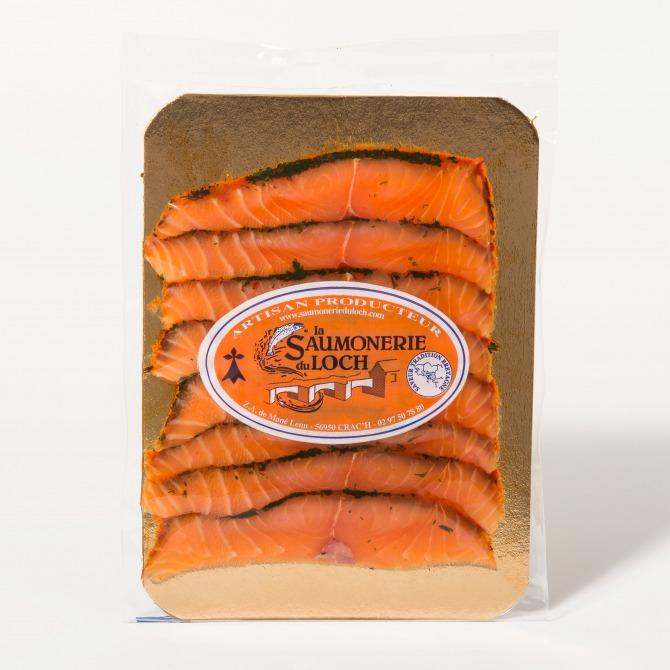 Saumon écosse mariné tranché nordique