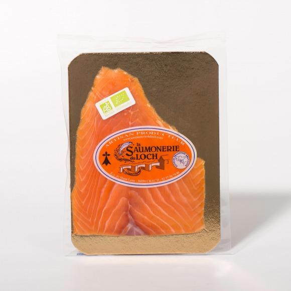 Saumon irlande Bio fumé 2 tranches
