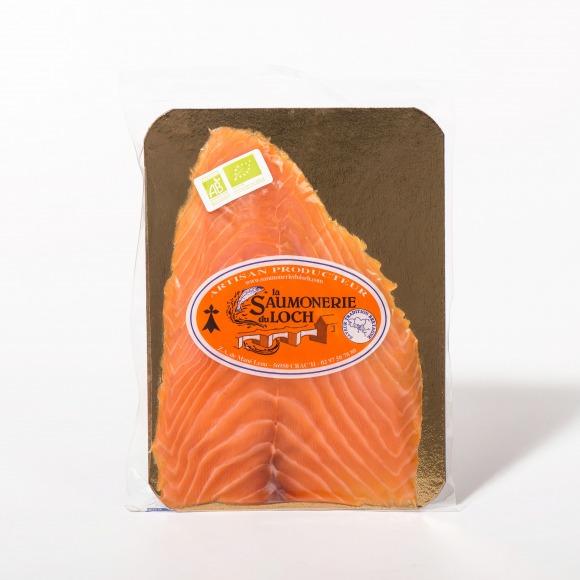 Saumon irlande Bio fumé 4 tranches