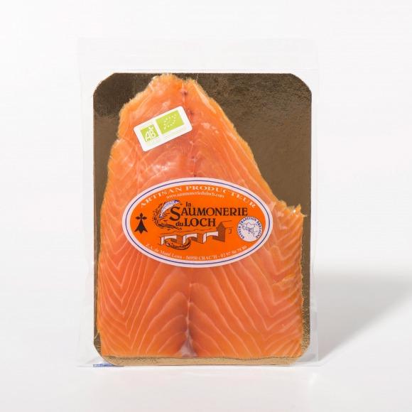 Saumon irlande Bio fumé 6 tranches