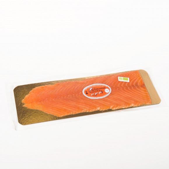 Saumon irlande Bio fumé 8 tranches