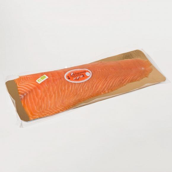 Saumon irlande Bio fumé filet tranché