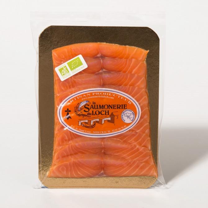 Saumon irlande Bio fumé tranché nordique