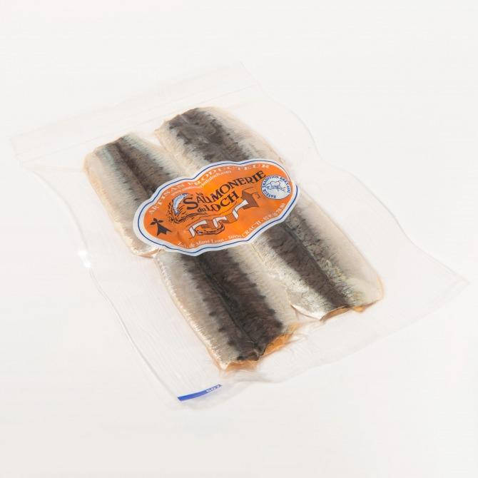 Sardines fumées