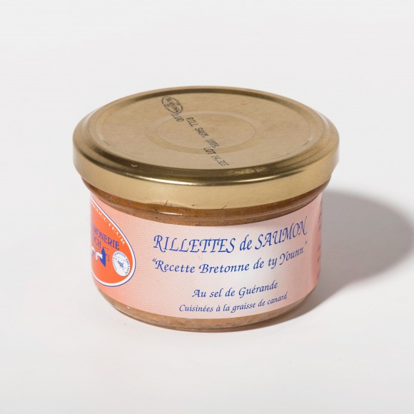 Rillettes de saumon verrine 100g