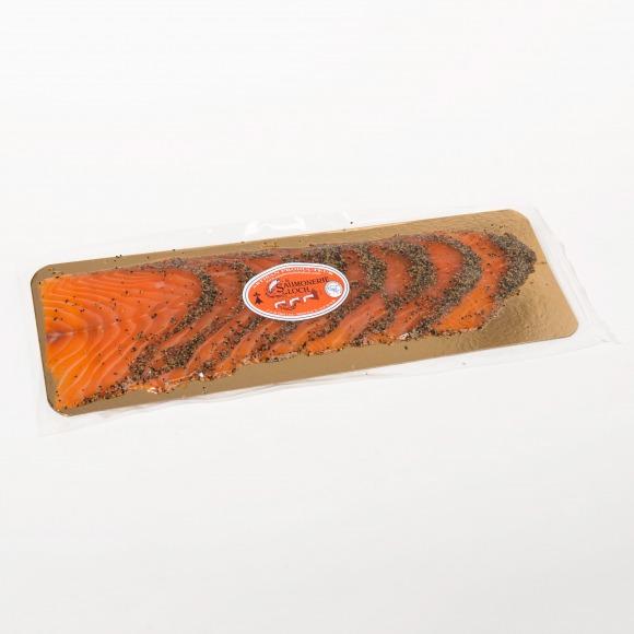 Saumon écosse fumé poivre 8 tranches