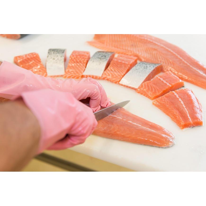Saumon frais Origine écosse Label Rouge