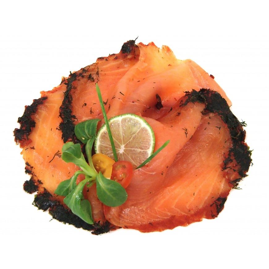 Saumon mariné Origine frais écosse Label Rouge