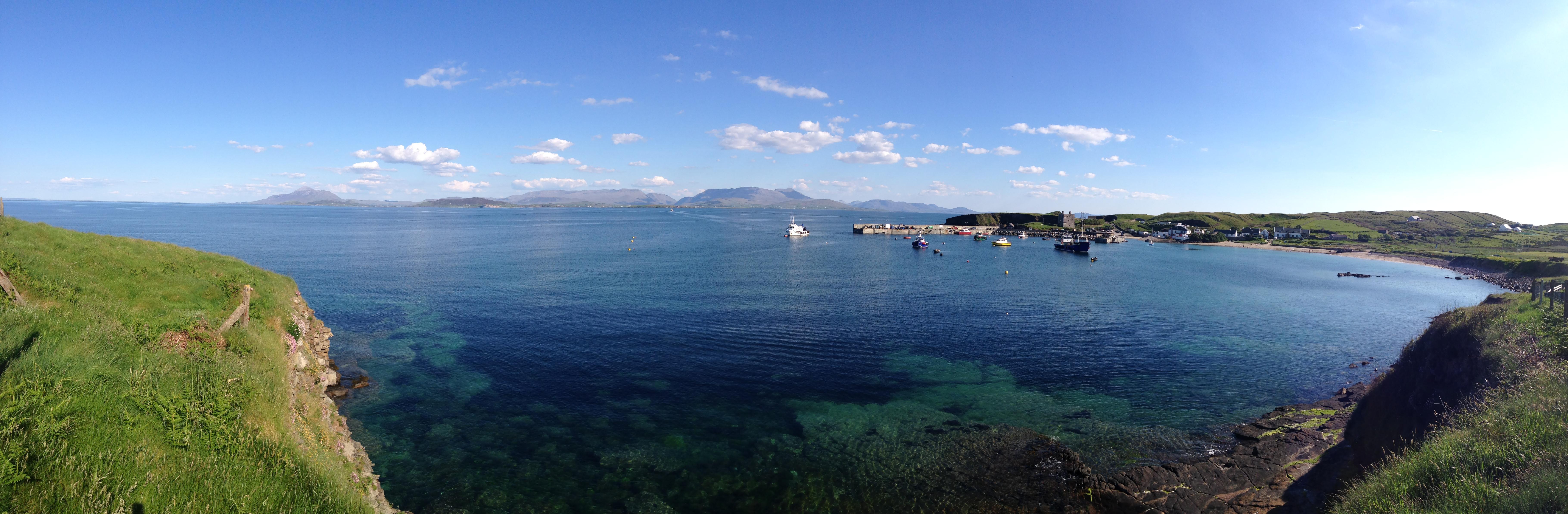 saumon irlande bio Clare Island